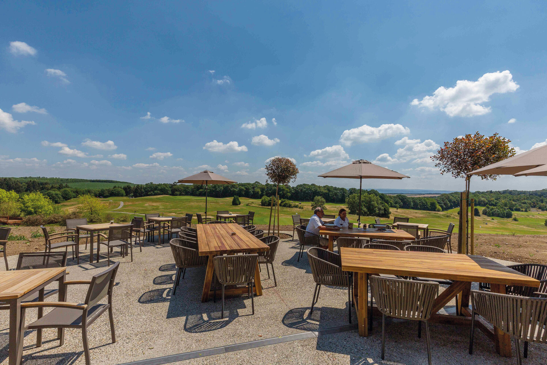 Belgie Five Nations Golfhotel terras groot
